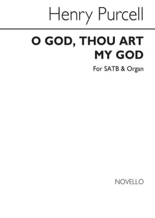Henry Purcell - Oh God, Thou Art My God - Sheet Music - di-arezzo.com
