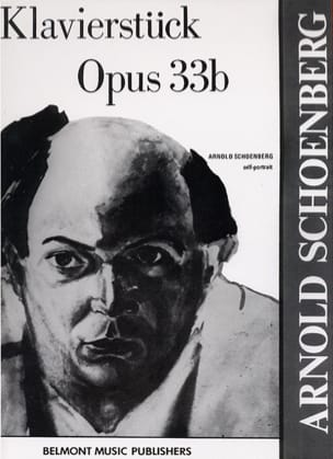 Klavierstück Opus 33b SCHOENBERG Partition Piano - laflutedepan