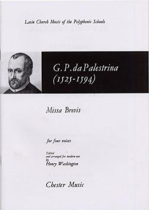 Giovanni Pierluigi da Palestrina - Missa Brevis - Partition - di-arezzo.fr
