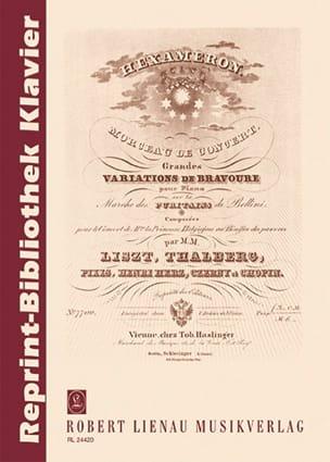 Hexaméron - Franz et Autres Liszt - Partition - laflutedepan.com