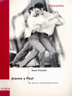 Astor Piazzolla - Jeanne Y Paul - Sheet Music - di-arezzo.com