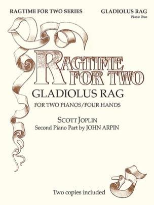Gladiolus Rag. 2 Pianos - JOPLIN - Partition - laflutedepan.com