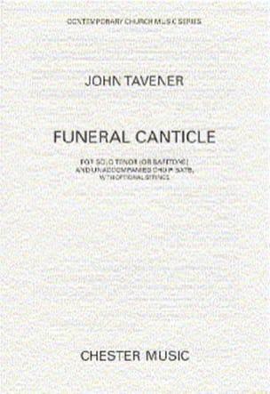 Funeral Canticle John Tavener Partition Chœur - laflutedepan