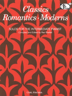 Classics Romantics Moderns Partition Piano - laflutedepan