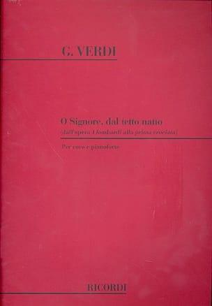 O Signore, Dal Tetto Natio. I Lombardi - VERDI - laflutedepan.com