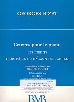 Les Inédits et 3 Pièces Du Magasin des Familles BIZET laflutedepan