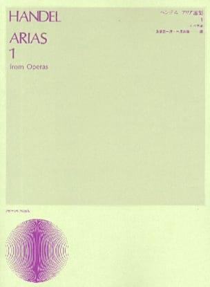 Georg-Friedrich Haendel - Arias From Operas - Partition - di-arezzo.fr