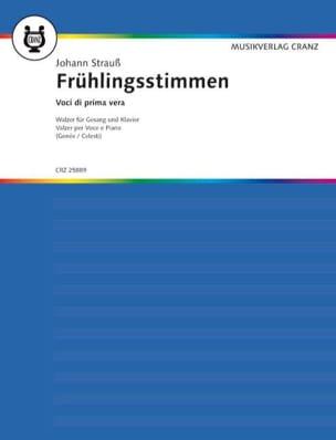 Johann Strauss - Frühlingsstimmen Opus 410 - Partition - di-arezzo.fr