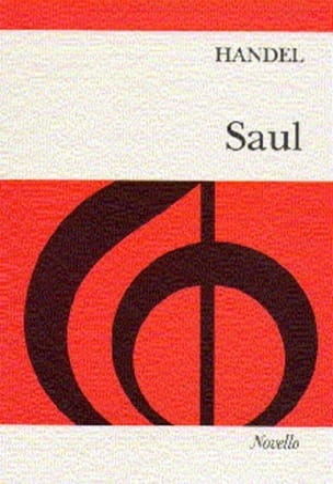 Georg-Friedrich Haendel - Saul. HWV 53 - Partition - di-arezzo.fr