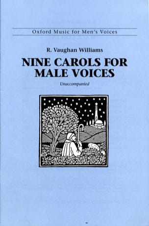 Williams Ralph Vaughan - 9 Carols For Male Voices - Partition - di-arezzo.fr