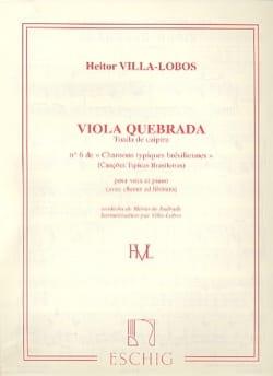 Heitor Villa-Lobos - Viola Quebrada - Partitura - di-arezzo.es