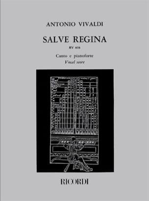 VIVALDI - Salve Regina RV 616 - Partition - di-arezzo.fr