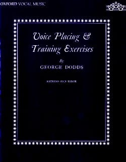 Dodds - Voice Placing And Training Exercises Vx High - Sheet Music - di-arezzo.com