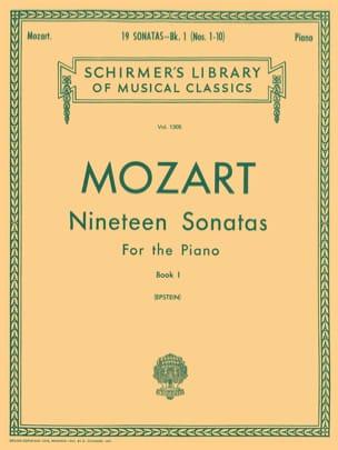 MOZART - 19 Sonates Volume 1 - Partition - di-arezzo.fr