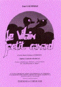 Jean Gauffriau - Le Vilain Petit Canard - Partition - di-arezzo.fr