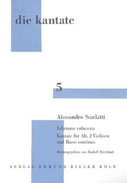 Alessandro Scarlatti - Infirmata Vulnerata - Sheet Music - di-arezzo.com