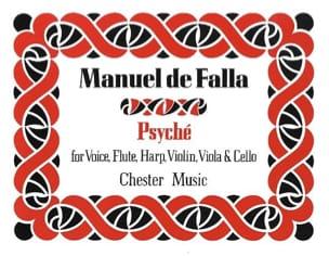 Manuel de Falla - Psyché - Partition - di-arezzo.fr