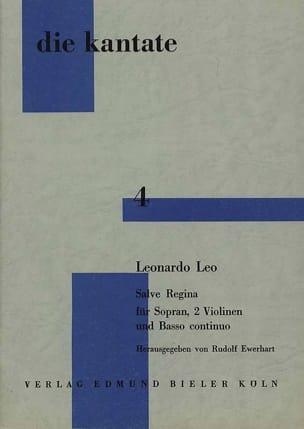 Leo Leonardo - Salve Regina - Partition - di-arezzo.fr