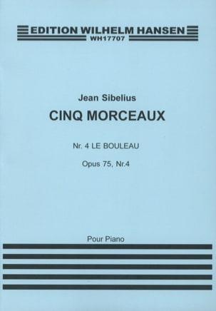 Jean Sibelius - Le Bouleau Op. 75-4 - Partition - di-arezzo.fr