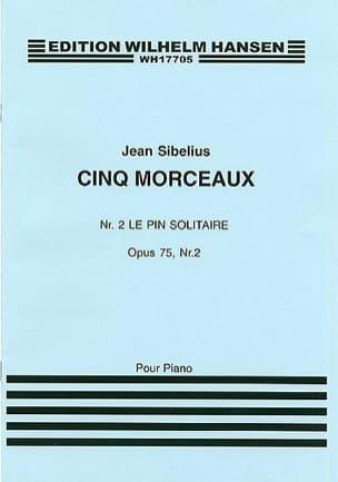 Jean Sibelius - 孤独の松Op。75-2。アーカイブ - 楽譜 - di-arezzo.jp