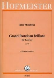 Ignaz Moscheles - Grand Rondeau Brillant Op. 43 - Partition - di-arezzo.fr