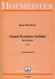 Grand Rondeau Brillant Op. 43 - Ignaz Moscheles - laflutedepan.com
