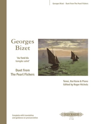 BIZET - Into the holy temple. Pearl fishermen - Sheet Music - di-arezzo.com