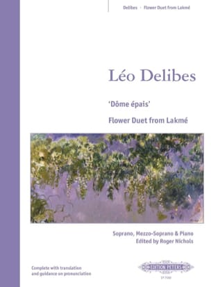 Léo Delibes - Thick dome. Lakmé - Sheet Music - di-arezzo.co.uk