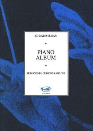 Piano Album ELGAR Partition Piano - laflutedepan