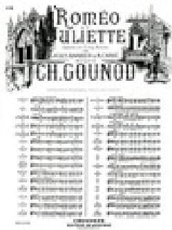 Charles Gounod - Je Veux Vivre. Roméo et Juliette 4 Bis. Mezzo - Partition - di-arezzo.fr