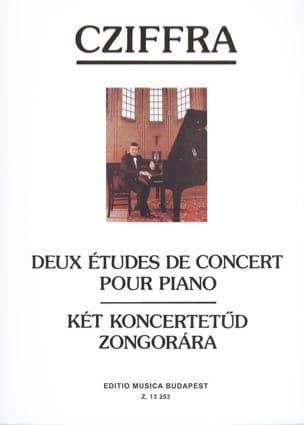 2 Etudes de Concert Pour Piano. - György Cziffra - laflutedepan.com