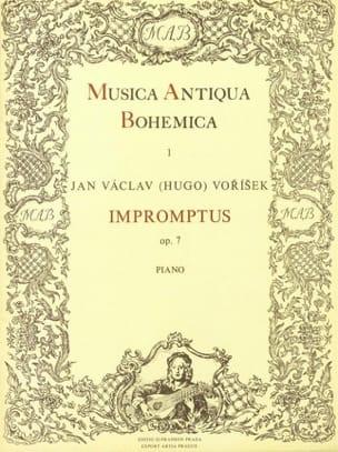 Jan Vaclav Vorisek - Impromptus Op. 7 - Partition - di-arezzo.fr