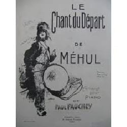 Le Chant Du Départ - Etienne-Nicolas Méhul - laflutedepan.com
