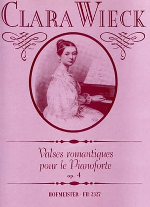 Clara Schumann - Waltzes romántico para Pianoforte Opus 4 - Partitura - di-arezzo.es