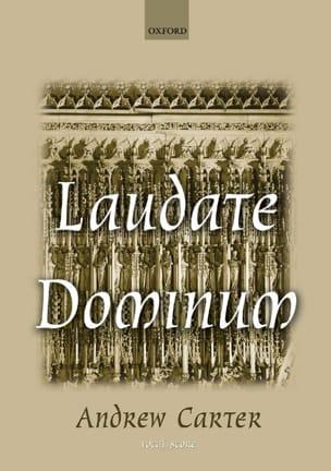 Laudate Dominum - Andrew Carter - Partition - Chœur - laflutedepan.com