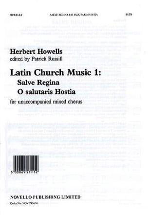 Herbert Howells - Salve Regina ; O Salutaris Hostia - Partition - di-arezzo.fr