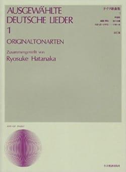 Ausgewählte Deutsche Lieder Volume 1. Voix Moyenne - laflutedepan.com