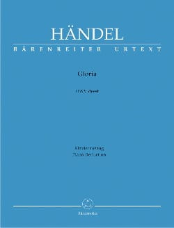 Gloria HAENDEL Partition Mélodies - laflutedepan
