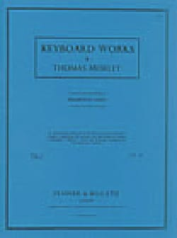 Keyboard Music Volume 1 - Thomas Morley - Partition - laflutedepan.com