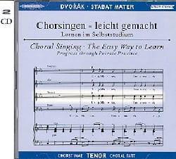 Stabat Mater. 2 CD Ténor DVORAK Partition Chœur - laflutedepan