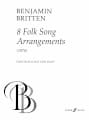 Benjamin Britten - 8 Folk Song Arrangements. - Partition - di-arezzo.fr
