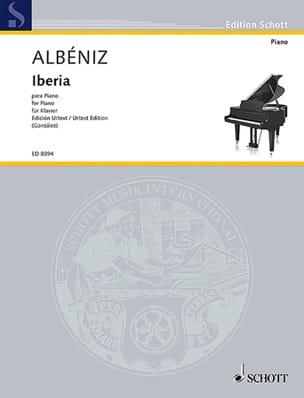 Isaac Albeniz - Iberia. Urtext - Partition - di-arezzo.fr