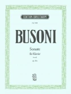 Sonate En Fa Mineur Op. 20a - Ferruccio Busoni - laflutedepan.com