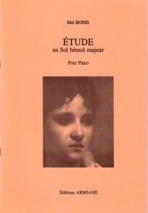 Mel Bonis - Etude En Sol Bémol Majeur - Partition - di-arezzo.fr