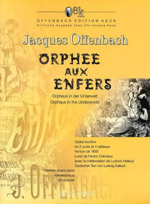Jacques Offenbach - Orpheus In the Underworld - Sheet Music - di-arezzo.co.uk