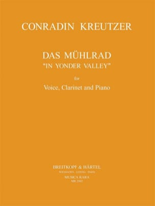 Conrad Kreutzer - Das Mühlrad - Sheet Music - di-arezzo.co.uk