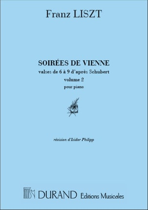 Franz Liszt - Vienna Evening Volume 2 - Partitura - di-arezzo.es