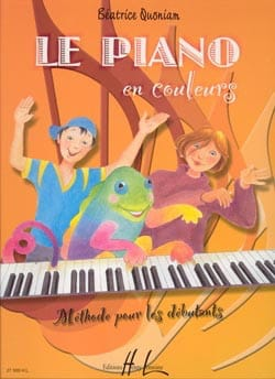 Béatrice Quoniam - The Piano In Colors - Sheet Music - di-arezzo.co.uk