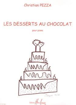 Les Desserts Au Chocolat Pezza Partition Piano - laflutedepan