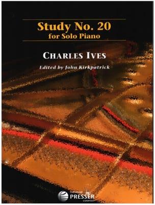 Study N° 20 - Charles Ives - Partition - Piano - laflutedepan.com